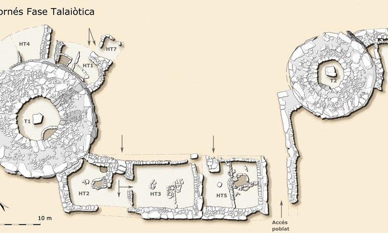 Àrea central de poblat talaiòtic de Son Fornés